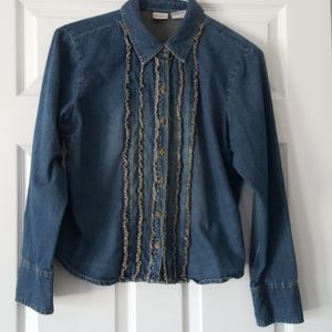 Arizona Jean Company denim shirt